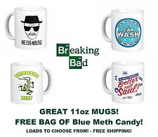 ❤ Breaking Bad - Heisenberg TV DVD Call Saul COFFEE TEA office White Brew MUG ❤