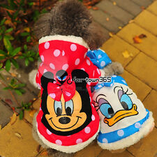 Spring Soft Pets Puppy Dogs Clothes Cartoon Cosplay Coat Hoodie Jumper Outwear