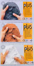 Activa Plus Natural Modelling Clay Air Dry 1kg 2.2lbs Made in Spain 3 Colors
