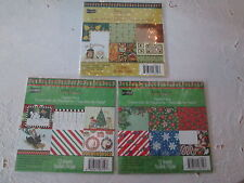 YOUR CHOICE - Mary Engelbreit Scrapbook Paper Pack, Fall - Christmas, New