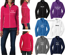 Ladies Full Zip Polar Micro Fleece Womens Jacket Sizes S M L XL 2XL 3XL 4XL NEW