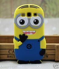 Minion Silicone Case Cover Skin to fit Samsung Galaxy S3 i9300