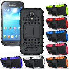NEW GRENADE RUGGED TPU SKIN HARD CASE COVER STAND FOR SAMSUNG GALAXY S4 MINI