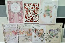 Wedding Anniversary Cards Free 1st Class Post Wife Husband Brother Sister in law