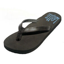 Wavewear Black Flip Flops w/ ARCH SUPPORT Sandals