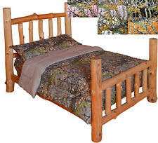 Your Choice Rustic The Woods Camo Microfiber Comforter / Sheets/ Bed in a Bag