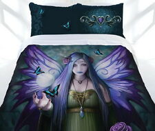 Anne Stokes MYSTIC AURA Fairy Magic Gothic Quilt Cover Set - DOUBLE QUEEN KING