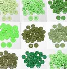 """23mm 7/8"""" SZ 36 Small Plastic Coat Buttons GREEN 10-90 buttons Discount Retail"""