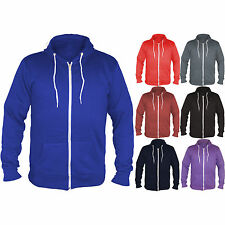 Mens Sweat Shirt Hoodie Unisex Hoody Zip Fleece American Top Jacket Apparel 814