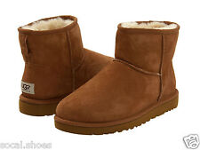 UGG AUSTRALIA WOMEN'S SHOES CLASSIC MINI CHESTNUT 5854 GENUINE BOOT NEW UGG SALE