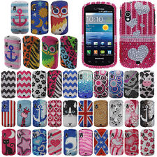 FOR SAMSUNG STRATOSPHERE I405 BLING Crystal Hard Snap Phone Protector Cover Case