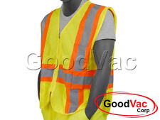 Majestic 75-3215 High Visibility Mesh ANSI ISEA 107-2010 Class 2 Vest