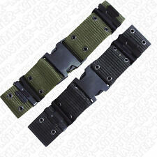 NEW Army Military Airsoft Paintballing Quick Release Nylon Knife Gun Pistol Belt