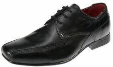 Red Tape Sandbach Kids Leather Black Junior Lace Up Boys Formal Shoes UK 1-6