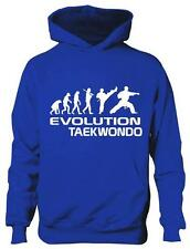 Evolution Of Taekwondo Sports Martial Arts Girls Boys Kids Hoodie Gift Age 5-13