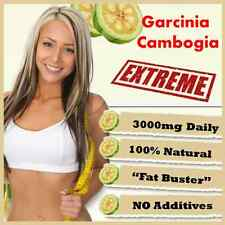 GARCINIA CAMBOGIA CAPSULES 3000mg DAILY HCA 62% DIET SLIMMING AID CHEAPEST IN UK