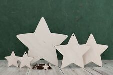 Wooden star shapes, craft blank,cutouts, Plaque and card making,Tag, pyrography