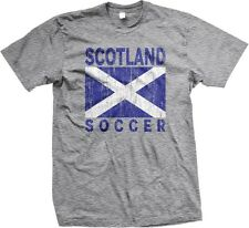 Scotland Soccer Flag Scottish World Cup Nationality Ethnic Pride -Mens T-shirt