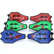 Vigor Street Board Two Rainbow Wheels RipStik Skateboard Wave Board Caster Board
