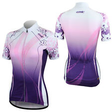 New Summer Women's Cycling Bicycle Bike Outdoor Sports Short Sleeve Jersey Shirt