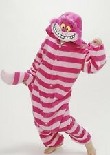 Unisex Adult Onesie Kigurumi Pajamas Anime Cosplay Costume Dress Cheshire Cat