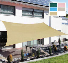 12FT Outdoor Patio Square Sun Sail Shade cover Canopy Top Awning Shelter Garden