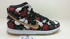 Nike SB Dunk High Premium Concepts Black Ugly Christmas Sweater 2013 x pigs prm
