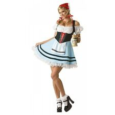 Beer Girl Costume Adult Womens Sexy German Oktoberfest Maid Gretel Fancy Dress