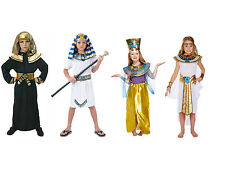 Egyptian Pharoah King Fancy Dress Book Week Costume Kids Party Child Outfit