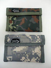 New ACU or Woodland Camouflage Wallet Purse Nylon Hunting Sport Portemonnaie