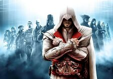NEW ASSASSINS CREED BROTHERHOOD VIDEO GAME WALL ART PRINT PREMIUM POSTER