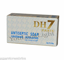 DH7 Antiseptic Skin whitening Lightening Exfoliating Soap with Vitaclear 250g