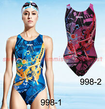 NWT YINGFA 998 TRAINING RACING COMPETITION SWIMSUIT US MISS 2,4,6,8,10,12 ALL Sz