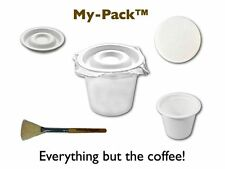 My-Pack Lid - Fillable Cups, Lids, and Filters for Keurig K-Cup Brewers