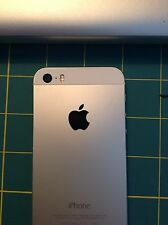 THREE- Apple Logo Sticker Decal For iPhone 4 4s 5 5c 5s - CHOOSE A COLOR!
