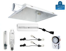 "600W 1000W HPS MH Grow Light System Kit Hydroponics Large Reflector 6"" 8"""