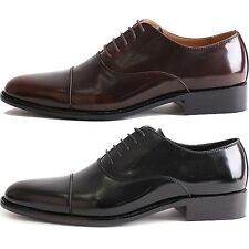 New Mooda Basic Simple Dress Casual Mens Formal Leather Shoes Black Brown