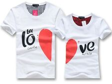 2014 fashion 10 pattern Men women tops for summer clothes Lovers couple T-shirt