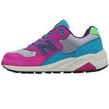 New Balance MRT580WJ D Fuchsia Blue Grey 2014 Mens Classic Running Shoes 580