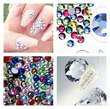 MIXED COLORS Swarovski Crystal 2058 Flatback Rhinestones 150 pcs SS16 / SS20