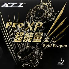 KTL Pro-XP Gold Dragon Table Tennis Pips-In Rubber