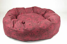 Dog Bed,, Heavy Duty, Red, Large, Med , Extra Large, Dog Tired Design