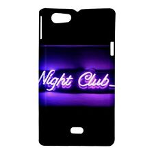 Nightclub Sign in Neon Design - Hard Case for Sony Xperia (8 Models)-CD4703