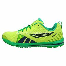 Puma Faas 300 S Yellow Green Navy 2014 New Mens Running Shoes Runner Sneakers