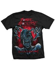 Darkside Clothing Zombie Apocalypse Tear Your Soul Apart  Men's Black T-shirt