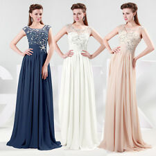 Sexy Charming Long Beaded Evening Formal JS Bridesmaid Ball Gown Prom Dress