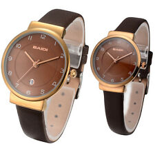 2014 New Lovers Watch Couple Watches Date Display Calendar Japan Movt 73029