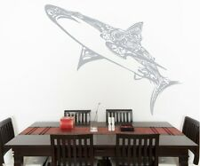 Vinyl Wall Decal Sticker Abstract Sharks OS_AA1384s 52W x 42H