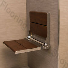 """Invisia Shower and Bath Benches Brazilian walnut 18"""" Support up-to 500 lb"""