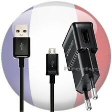 chargeur samsung ETAOU81EBE + cable N7100 N7000 Galaxy S3 I9300 I8190 S2 Note2